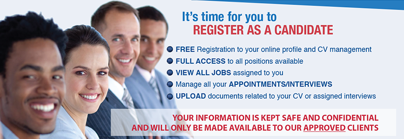Register as a Job Seeker