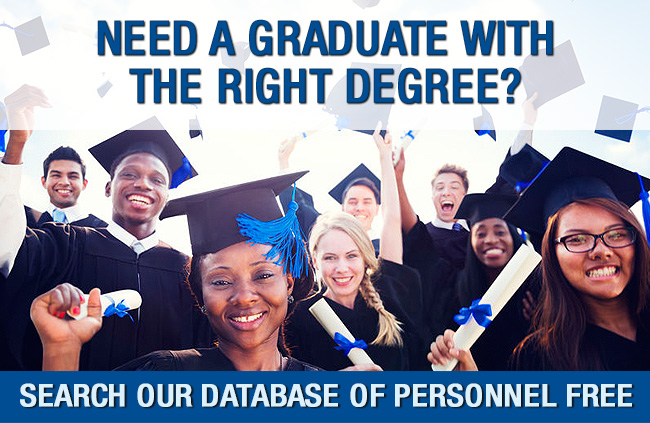 Need graduates from different fields?