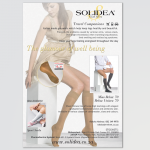 Full page advert for Solidea for the Waterfall magazine